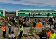 On scene at GO Transit emergency collision exercise Saturday, Sept. 22
