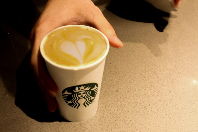 Photo of a Starbucks cappuacino