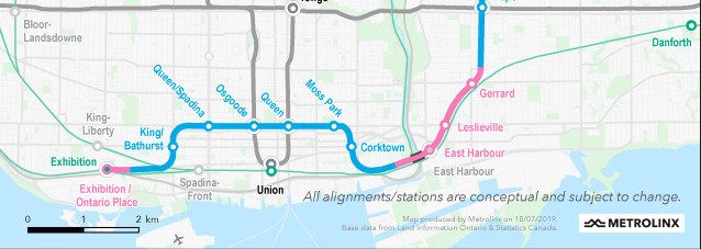 Metrolinx and Infrastructure Ontario release Initial Business Case for Ontario Line subway