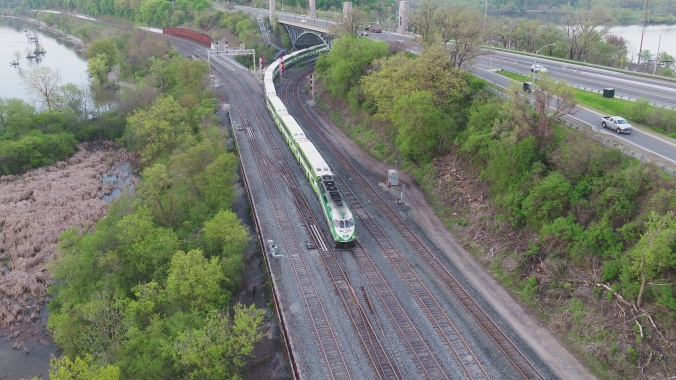 GO Train Hamilton Junction