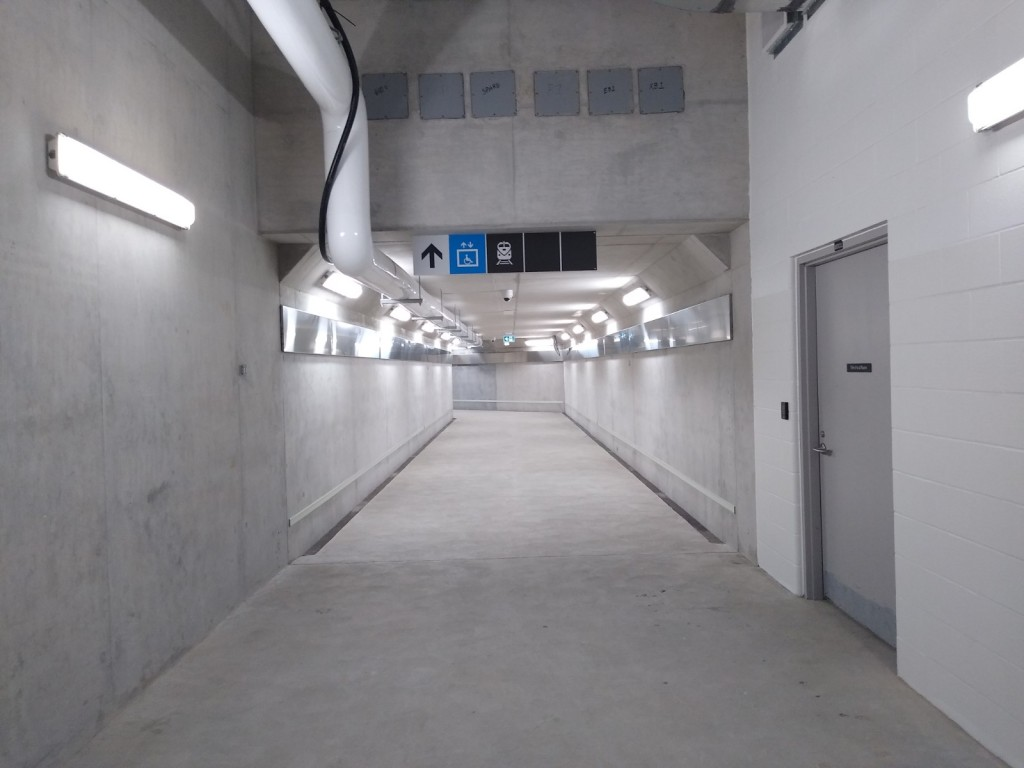 An image of the bright tunnel at Brmalea.